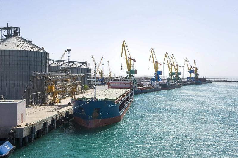 Cargo transshipment from Aktau port to Azerbaijan increases