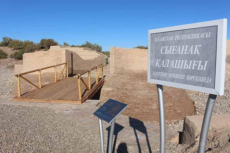 Қызылордада  мәдени және тарихи ескерткіштерге QR-код  орнатылды
