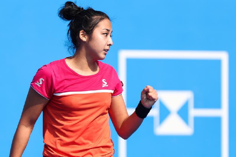 Теннис: Зарина Дияс Индиан-Уэллс турнирінің жартылай финалына шықты