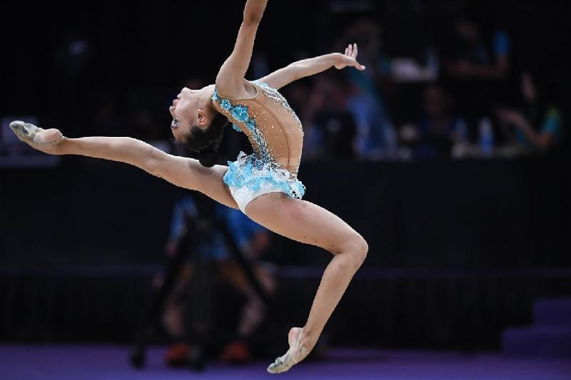 Даяна Абдирбекова завоевала Кубок РК по художественной гимнастике