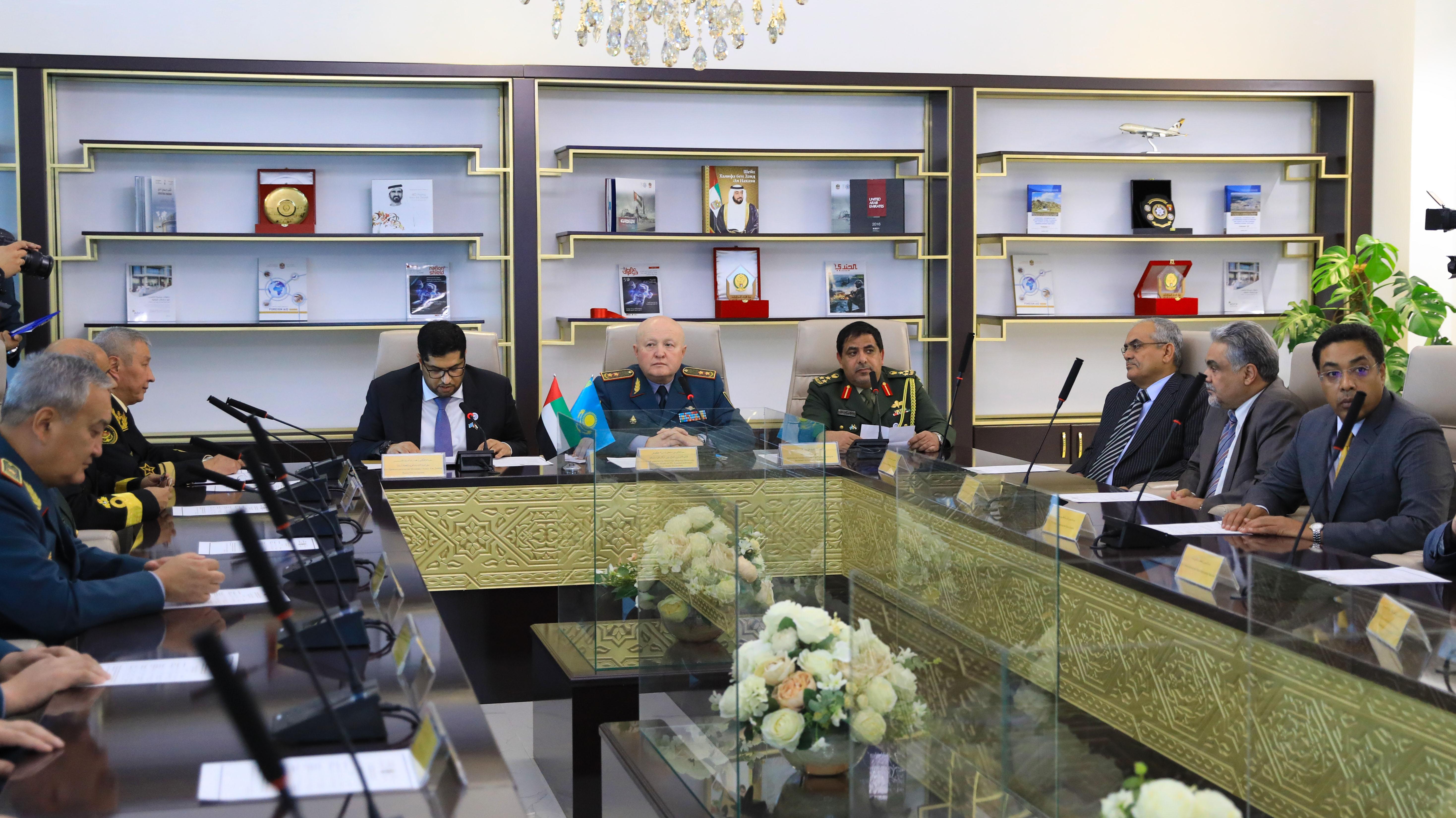 Аудиторию военного искусства Вооруженных сил ОАЭ открыли в университете обороны в Астане