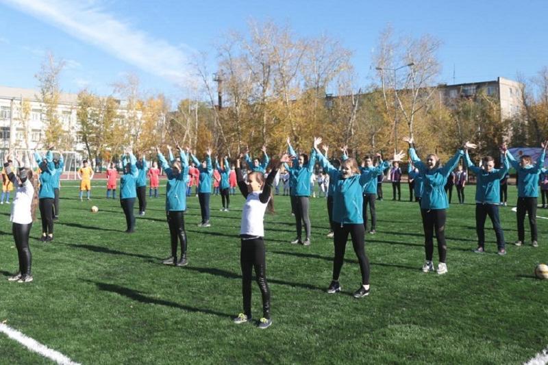 Современную спортивную площадку открыли в Павлодаре