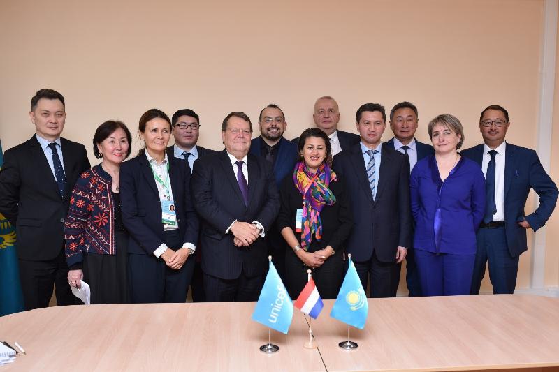 Kazakh NC PHC, UNICEF ink MoU