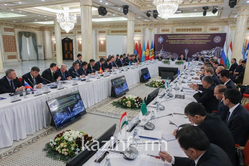 独联体国家安全机关会议在阿拉木图举行
