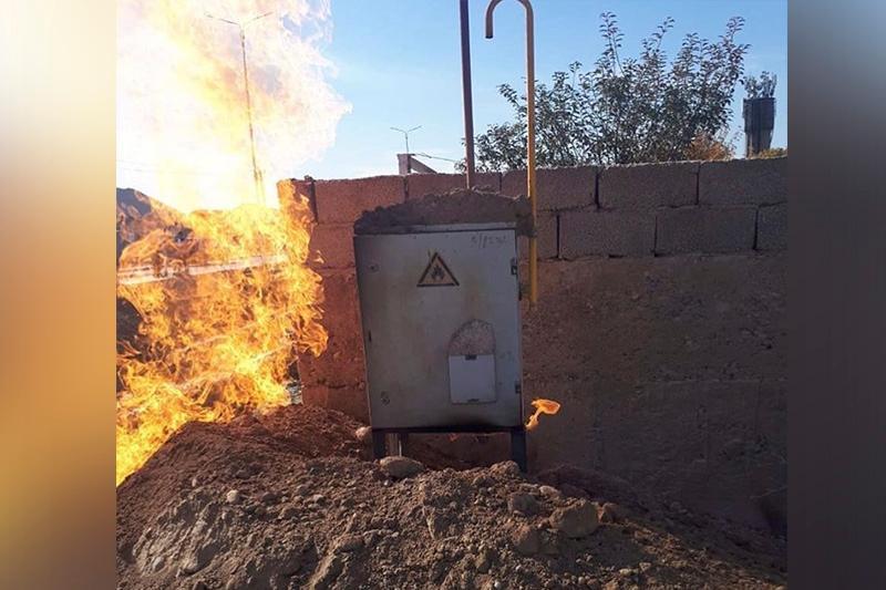 Авария оставила без газа 3 тысячи абонентов в Шымкенте