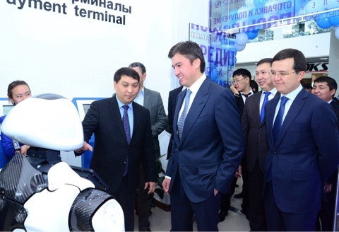 Цифровой офис «Казпочты» открыли в Шымкенте