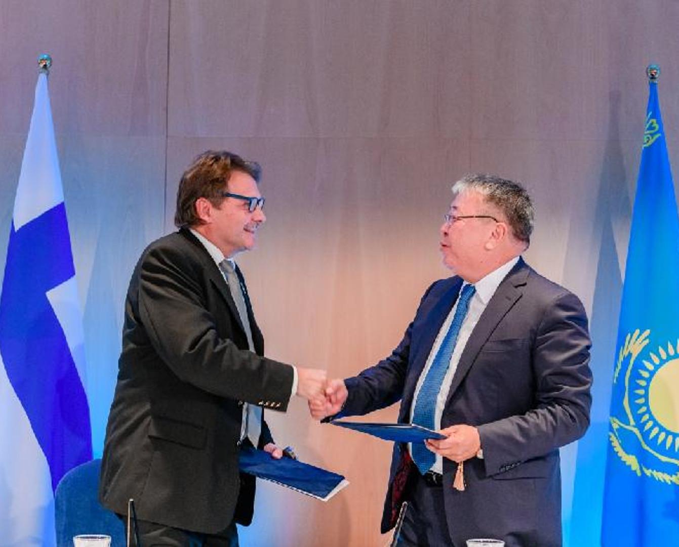 芬兰企业将参与哈萨克斯坦住房基础设施建设进程