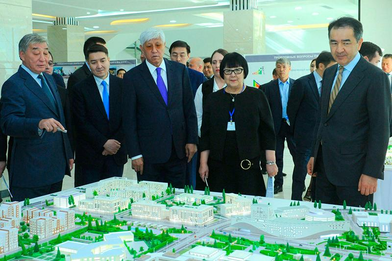Urban devpt plan of Almaty region's new city demonstrated to PM