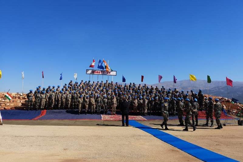 Kazakh peacekeepers arrive in Lebanon
