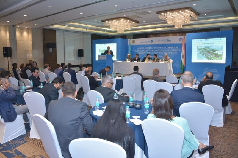 Kazakhstan presents potential of Eastern branch of North-South int'l transit corridor