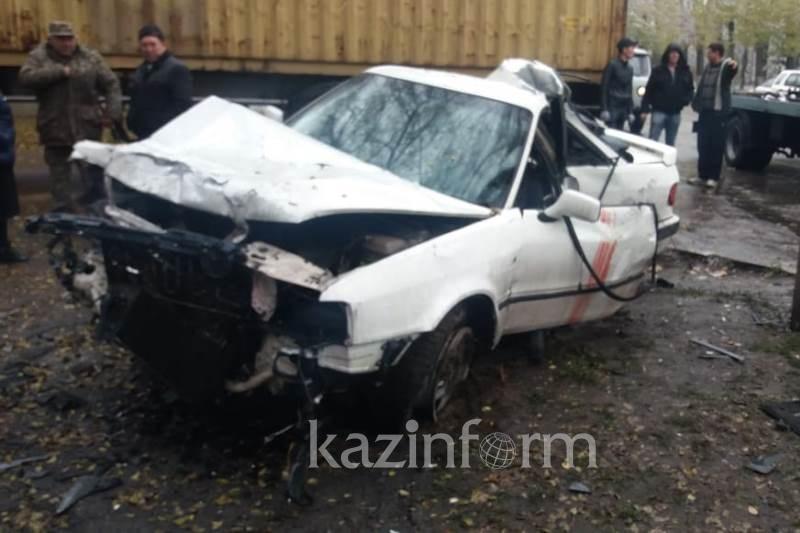 Нетрезвый водитель насмерть сбил женщину в Алматы