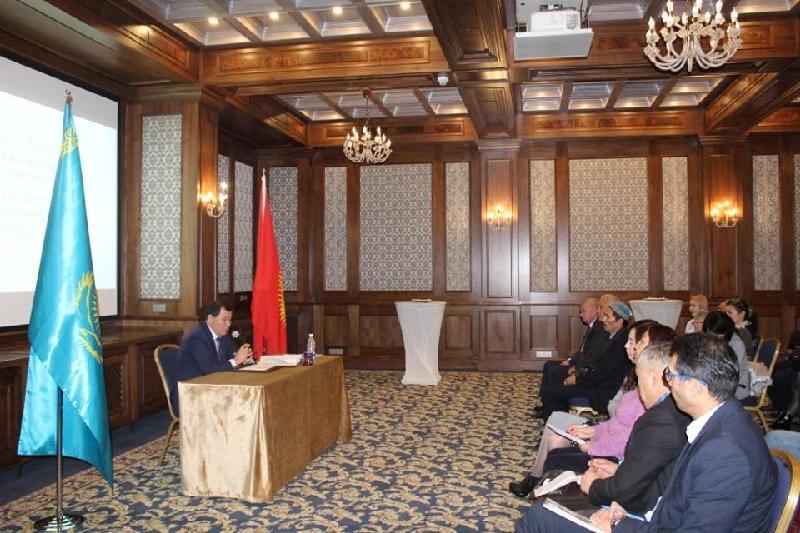 Журналисты Кыргызстана ознакомились с Посланием Президента Казахстана