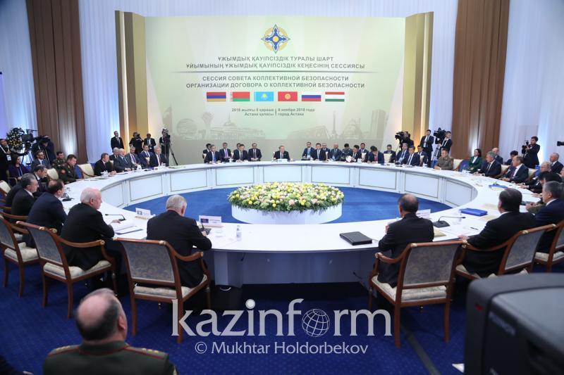 Нурсултан Назарбаев: Мы будем помогать Кыргызстану на посту председателя ОДКБ