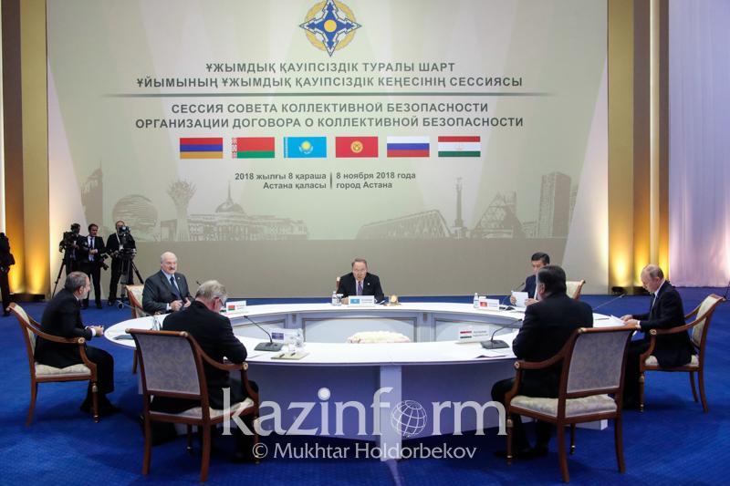 Президенты стран ОДКБ поставили «пятерку» Казахстану