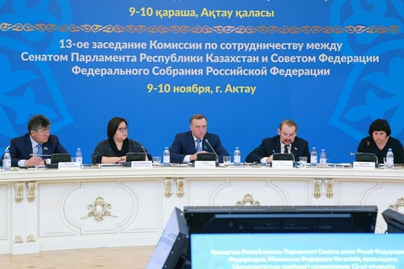 Kazakh, Russian MPs mull over ratification of Convention on Caspian Sea Legal Status