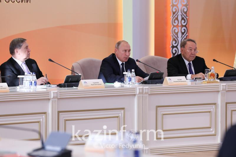 Қазақстан мен Ресейдегі табиғи ерекшелікті басқа елдерден таппаймыз - Путин