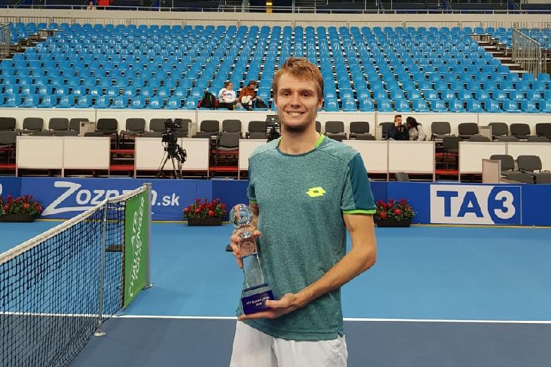 Александр Бублик выиграл турнир серии АТР «Челленджер» в Братиславе