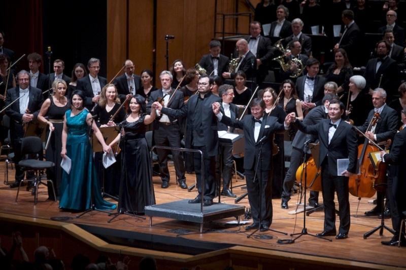 阿斯塔纳歌剧院在意大利演出 向全世界发出和平呼吁
