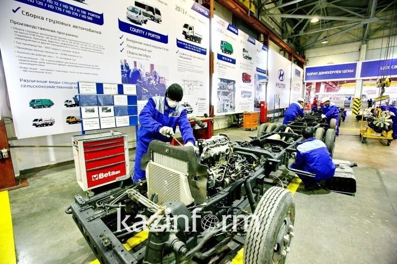 前十月哈萨克斯坦制造业增长率5.4%