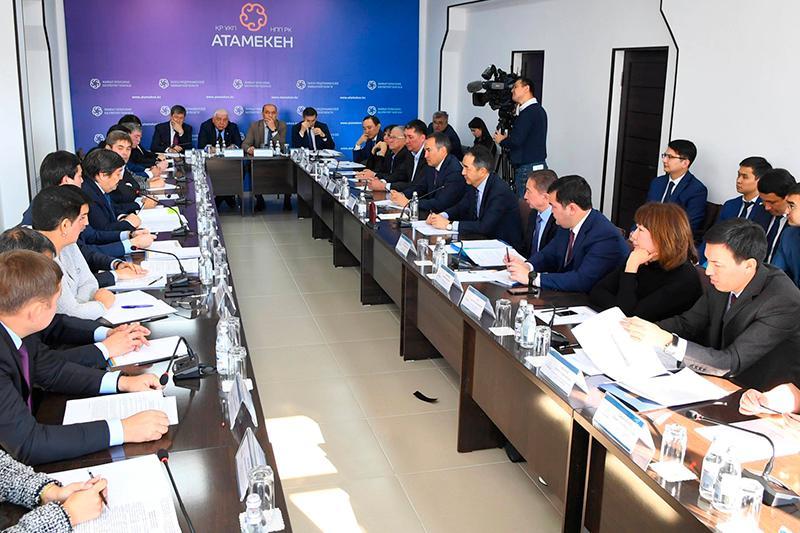 PM met with Zhambyl region's entrepreneurs