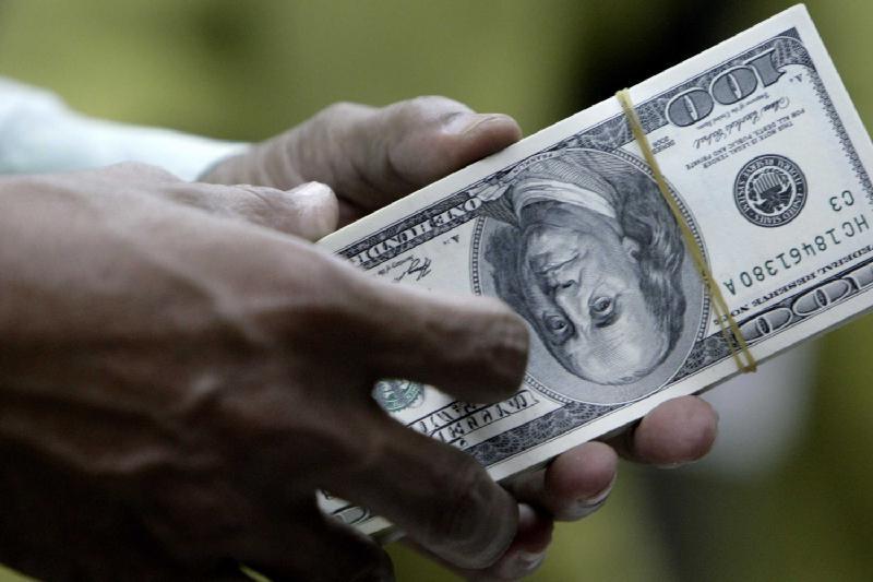 KASE: Доллар бағамы бірден 5,8 теңгеге құлады