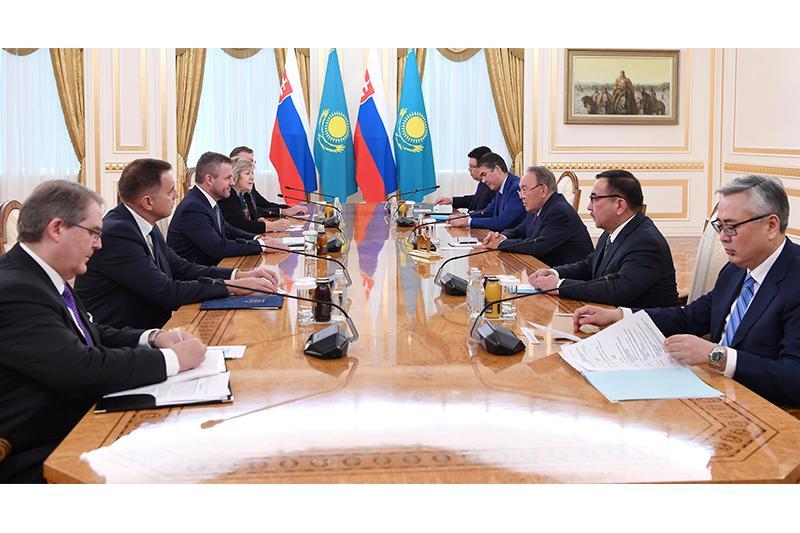 Kazakh President, Slovak PM had talks in Astana