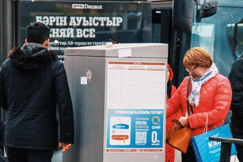 Астанада қоғамдық көліктің жолақы картасы терминалдарда уақытша сатылмайды