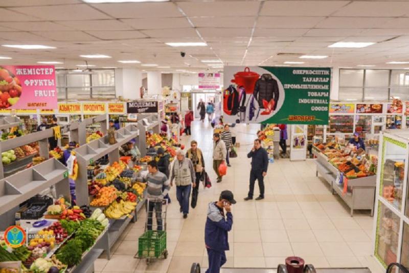 Опыт столичного рынка «Шапагат» внедрят в торговых точках Шымкента