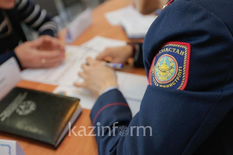 Қызылордада полиция қызметкері жедел-іздестіру құжаттарын бұрмалаған
