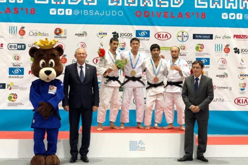 Казахстан впервые взял «золото» по парадзюдо на чемпионате мира