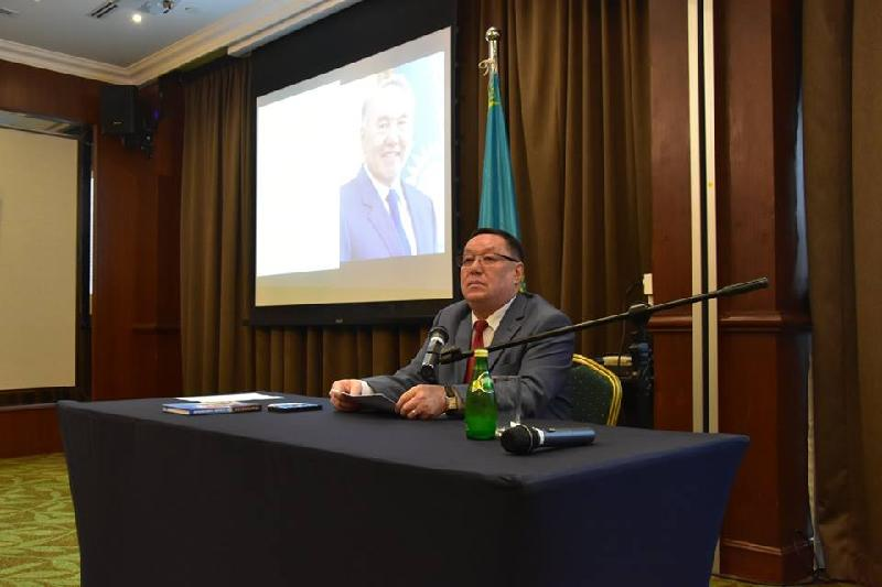 Kazakh Embassy in Singapore held briefing for diplomatic corps, mass media and businessmen
