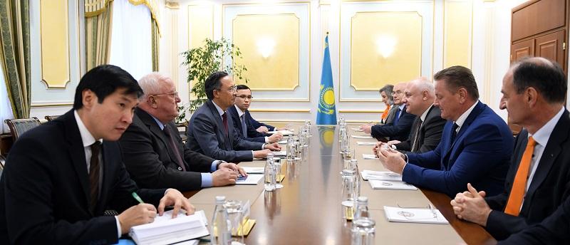 Кайрат Абдрахманов встретился с руководством ПА ОБСЕ