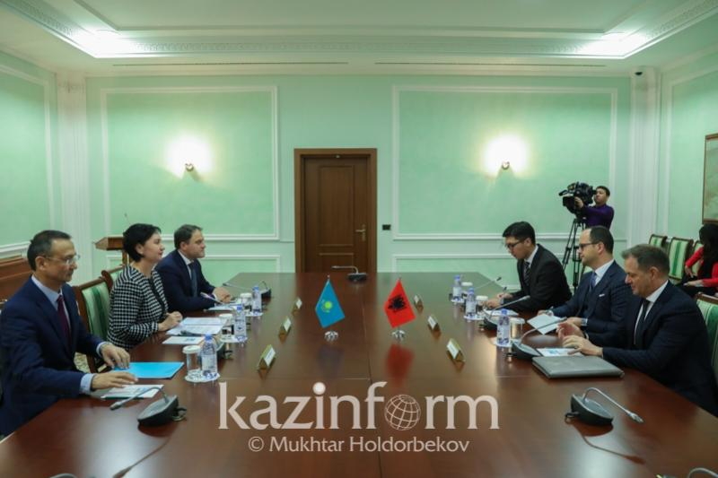 Kazakhstan, Albania determine promising areas of bilateral cooperation