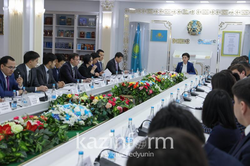 Presidential Youth Affairs Council holds regular meeting in Astana