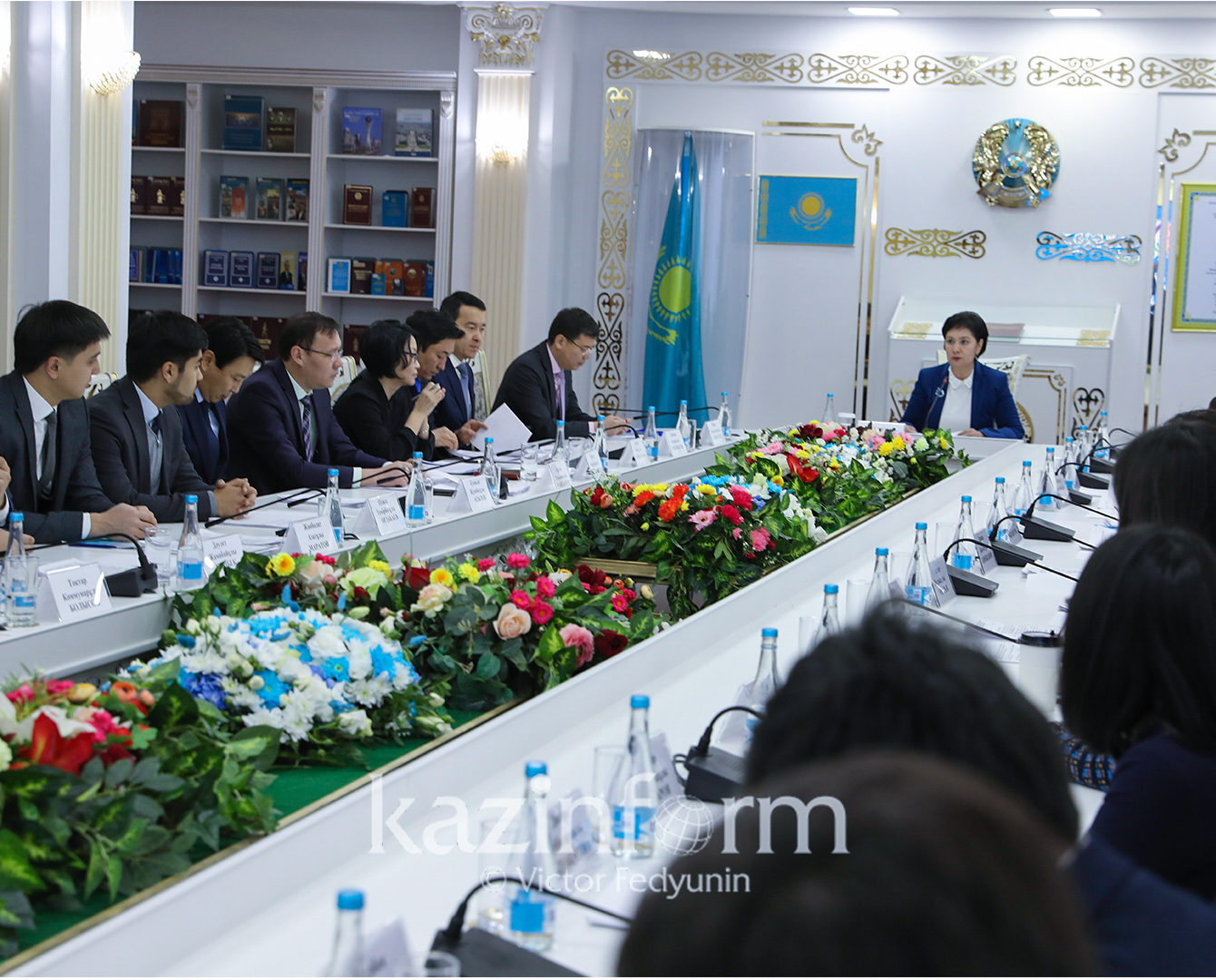 Заседание Совета по молодежной политике под председательством Госсекретаря РК проходит в Астане
