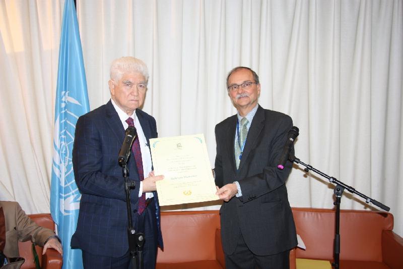 Казахстанский ученый-химик удостоен престижной награды ЮНЕСКО