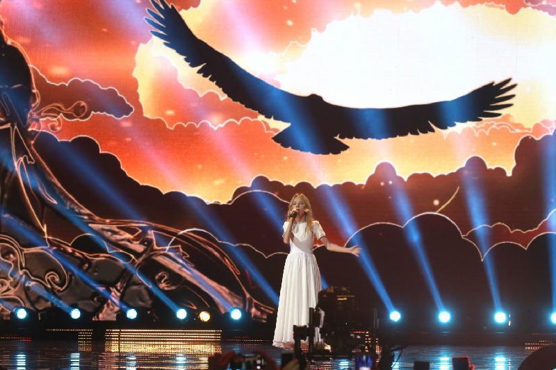 Данэлия Тулешова выступила в финале Детского Евровидения