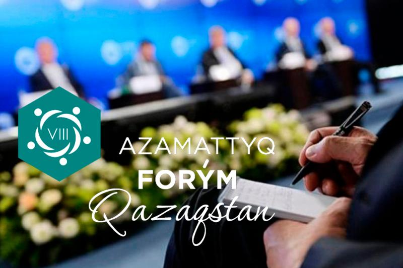 850 delegates to partake in VIII Civil Forum of Kazakhstan