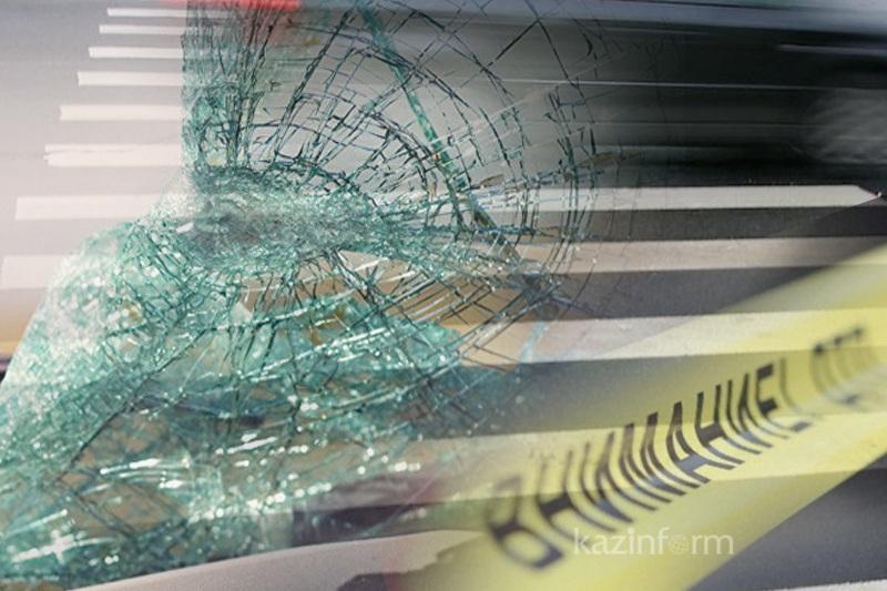 Смертельное ДТП на трассе в Костанайской области: столкнулись УАЗ и КамАЗ