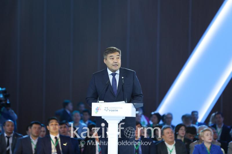 Министр Азаматтық альянстың мәртебесін көтеруді ұсынды