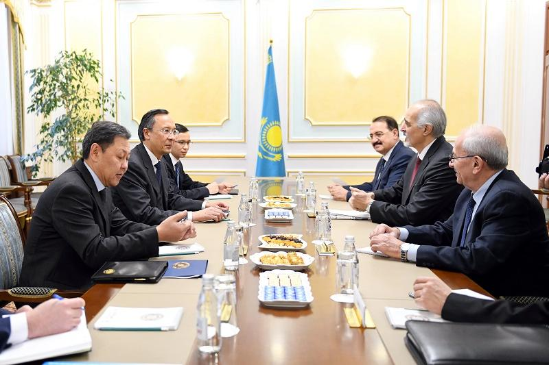 Kazakh FM meets Syrian government and armed opposition delegations in Astana