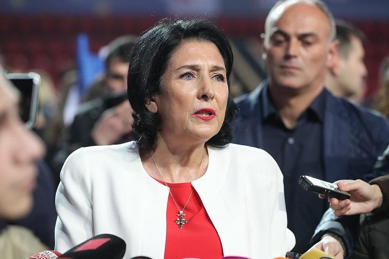 格鲁吉亚或将迎来首位女总统