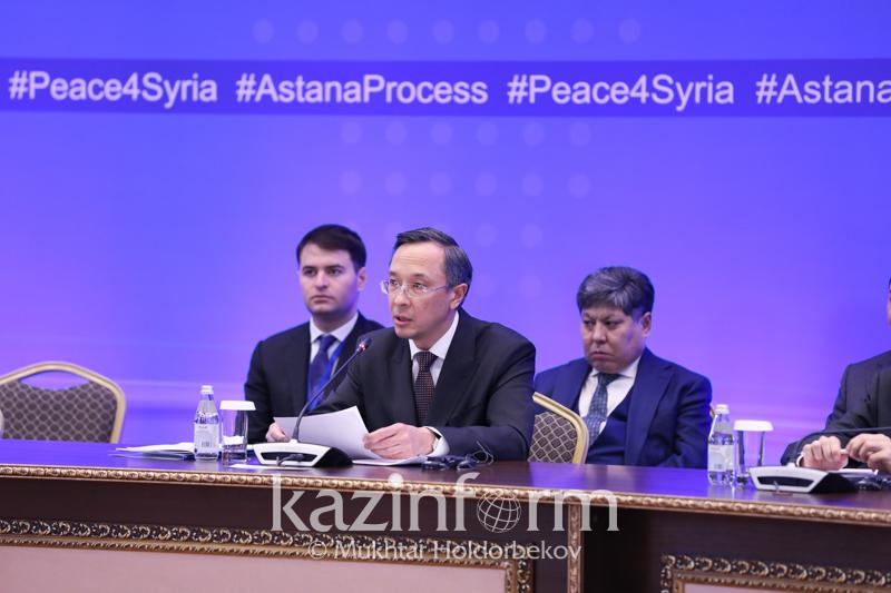 There is no military settlement of Syrian conflict - FM Abdrakhmanov