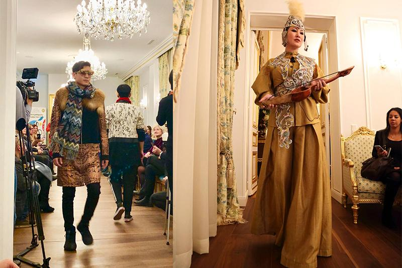 Kazakh culture and fashion on display in Paris