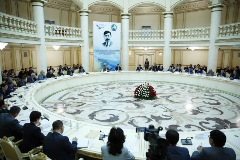 Конференция «Халел Досмұхамедов-ұлы мұрат жолында» прошла в Атырау