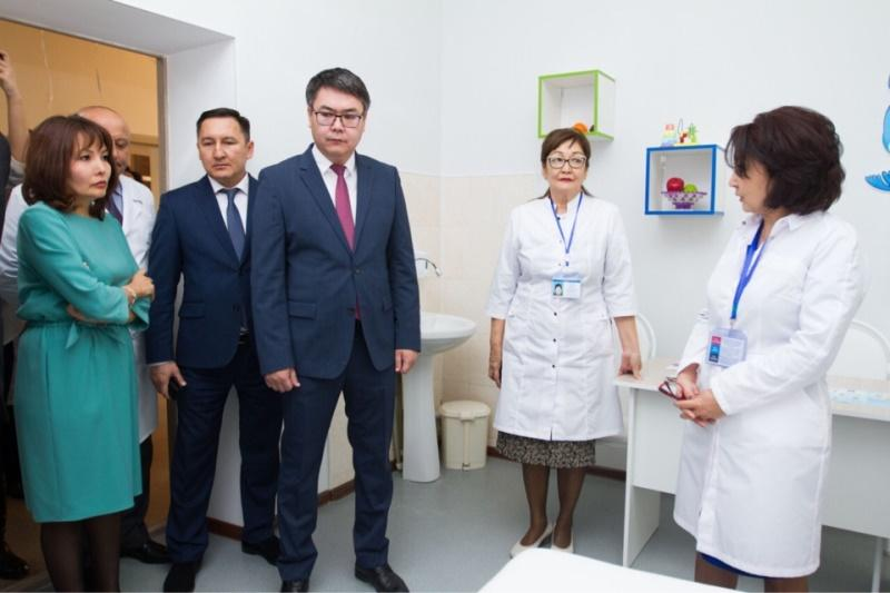 В Атырау открылся новый медцентр для реабилитации особенных детей