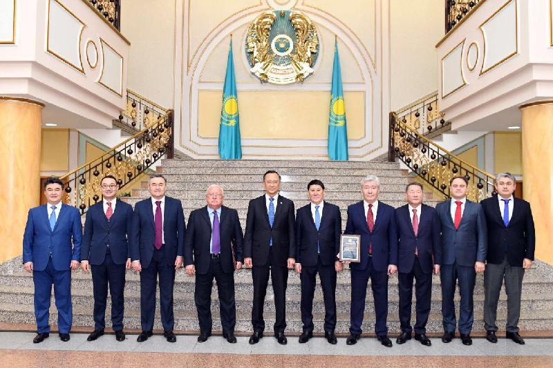В МИД прошло празднование Дня Первого Президента Казахстана