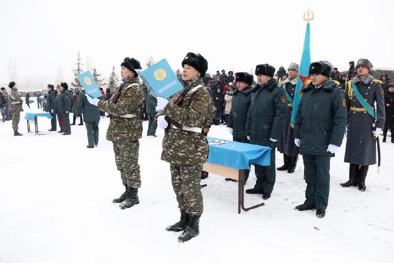 Клятву на верность Родине дало молодое пополнение Вооруженных Сил