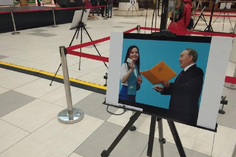 Главный приз конкурса на лучшее фото с Президентом отправляется в Алматы
