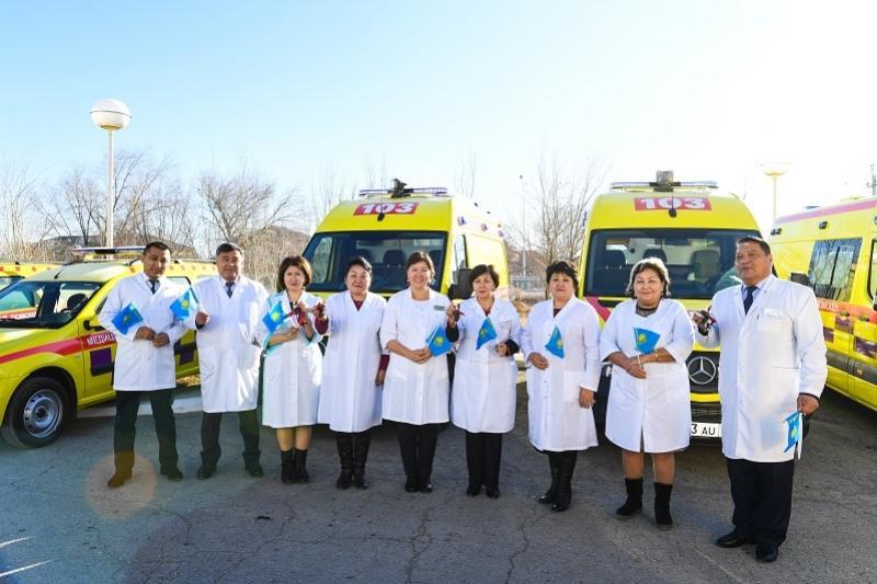 Спецавтотехнику получили медицинские учреждения Кызылординской области